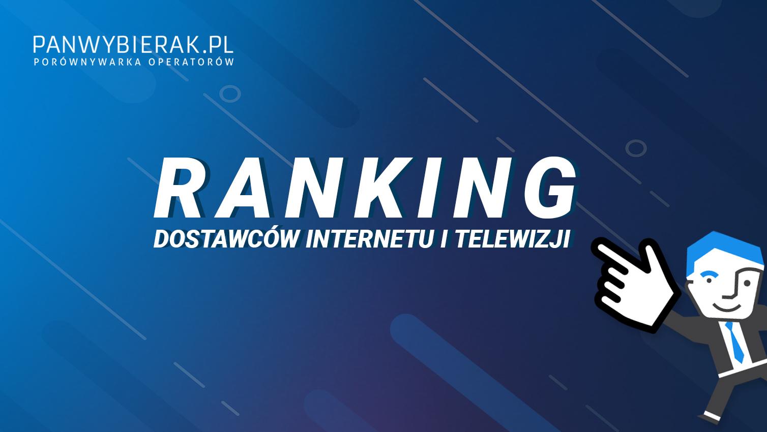 Ranking dostawców Internetu itelewizji 2019