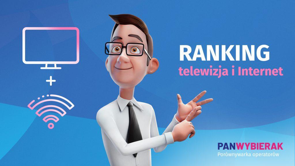 telewizja+internet oferty operatorów ranking