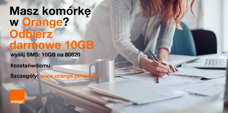 dodatkowy internet orange